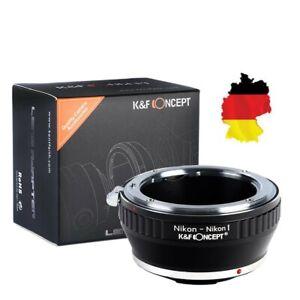 K&F Concept Adapter For Nikon For Lens On Nikon 1 Mount, Nikon For To