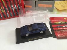 Miniatures Kyosho 1/64 Ferrari 308 GTB Quattrovalvole Bleue