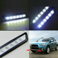 2*For Mitsubishi Outlander Sport ASX 2010-12Front Bumper Fog Driving Light WHITE