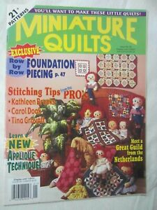 Miniature Quilts Magazine Issue 51