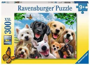 Ravensburger 300 XXL Piece Puzzle Delighted Dogs 13228