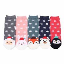 Chaussettes d'hiver de femmes de Noël de chaussette de coton chaud