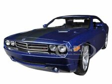2006 DODGE CHALLENGER CONCEPT BLUE 1:18 DIECAST MODEL CAR BY MAISTO 36138