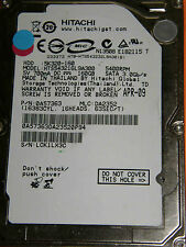 160 GB HITACHI hts543216l9a300/0a57363/da2352/apr-09/0a57128 da2358 _