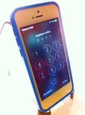 Nuovo Bumper slim per Apple iPhone 5C colore blue