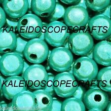 MIRACLE BEADS TURQUOISE COLOR 4MM ROUND LARGE LOT 1/2 KG 11500 BEADS