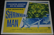 The Incredible Shrinking Man Half Sheet Poster - Universal (1964) ITB WH