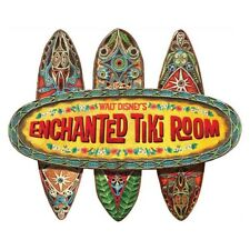 ENCHANTED TIKI ROOM WALL SIGN (Disneyland Walt Disney World) - Brand new in box!