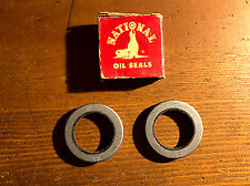 NOS 1948-56 Studebaker Truck Champion Commander President Front Wheel Oil Seals