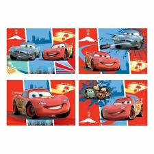 4pk Disney Cars 2 Children's Party Favours Loot Gifts Toys Jigsaw Puzzles Games