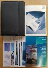 GENUINE TOYOTA AURIS OWNERS MANUAL HANDBOOK WALLET 2006-2010 PACK C-405 !
