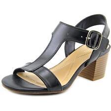 Sandali e scarpe neri marca Alfani per il mare da donna