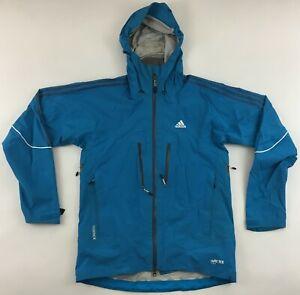 Adidas Terrex Gore-Tex Pro Shell Formotion ski hooded jacket ski blue mens Large