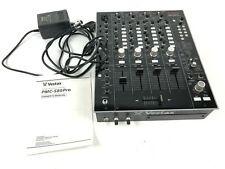 Vestax PMC-580 Pro professional 4-channel DJ Mixer with internal digital FX