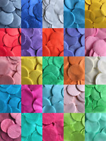 Confetti Solid Colour Paper Circle Round Party Wedding Throw Balloon Decoration