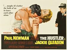 THE HUSTLER Movie POSTER 30x40 Paul Newman Jackie Gleason Piper Laurie George C.
