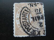 WURTTEMBERG Mi. #40 scarce used stamp w/ horseshoe cancel! CV $60.00