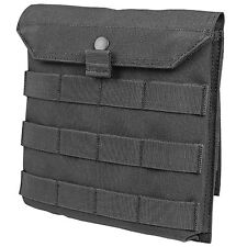 Condor MA75 Side Plate Molle Utility Accessory Pouch Black w/ Snap Button