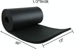 """1 Roll 1/2"""" T x 13"""" W x 60"""" L Sponge Neoprene Without Adhesive Foam Rubber Sheet"""