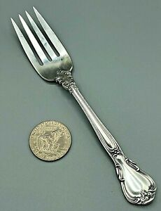 Vintage Sterling Silver Gorham Chantilly 1895 Serving Fork 80.5g GREAT No Mono