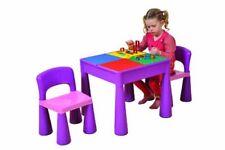 Liberty House table et 2 chaises pour enfant Violet
