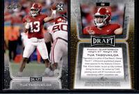 2020 Leaf Draft #2 Tua Tagovailoa Alabama Crimson Tide Rookie Card Dolphins