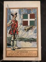 Mint USA PPC Picture Postcard Guyenne Regiment 7 Years War Fusileer Company