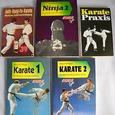 6 x karate libros en el paquete-artes marciales-ninja, judo, Kung-fu, CIPR, Shoshin