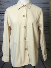 TALBOTS Blazer Suit Coat Petites PP Petite Plus Yellow PS Jacket Womans