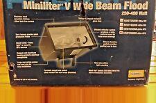 Hubbell MHS-Y400S8 Miniliter V Wide Beam Flood LIght