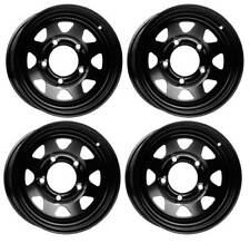 4 Dotz Dakar dark wheels 6.0Jx15 5x139,7 for Suzuki Grand Vitara Jimny Samurai V