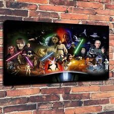 Art CANVAS PRINT,  Star Wars Character  cartoon war Wall Decor ,16x24