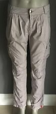 Pre-owned Great Condition EDC by ESPRIT Beige Cargo Pants Size 12