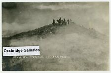 American Indian War Original 1880 Soldiers Wagons Caravan Sioux Mountain Cowboys