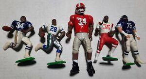 Starting Lineup Loose Lot 5 NFL Figures Herschel Walker Vikings Patriots Georgia