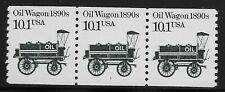 US Scott #2130, Plate #1 Coil 1987 Oil Wagon VF MNH
