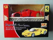 Ferrari Enzo Maisto 1:24 Die-Cast Metal Body Model Kit Sports Car Red New in Box
