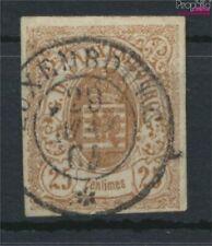 Luxemburg Mi.-Aantal.: 8 gestempeld 1859 Crest (9408140