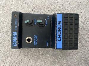 Yamaha CH-10Mii SDS Chorus Analog 1980 Guitar Effects Pedal