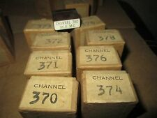 9 Radio Crystal FT 241-A w/ holders dated 1945 Most sealed 370 - 374 , 376 - 380