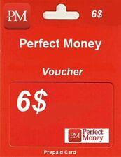e-VOUCHER PERFECT MONEY 6$ - DOŁADOWANIE KOD