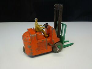 Dinky Toys Coventry Climax Fork Lift Truck Model 14C 1950's Diecast Toy Meccano