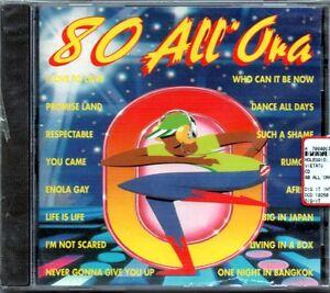 80 ALL'ORA -CD NUOVO SIGILLATO COVER ANNI 80 ENOLA GAY PROMISE LAND LIFE IS LIFE