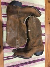 Twisted X 0012 Bomber R Toe Stitched Cross Cowboy Western Boots Men's US 8 D