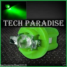 9x Ampoule B8.5D BX8.5D BAX10D ( T5 sur culot ) LED Bulb Vert Green Neo Wedge
