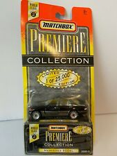 1995 MATCHBOX WORLD CLASS 1/64 SCALE BLACK MERCEDES 600 SL WITH OPENING DOORS