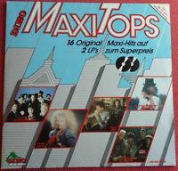 Dino Maxi Tops Doppel LP 2-LP Vinyl 1985 Princess Sandra Martinelli OMD uvm