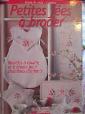 Petites Fees A Broder Livre Par Claire Fournier- Editions De Saxe- Point De Croi