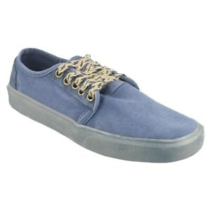 MENS HEY DUDE CANVAS ROUND TOE LIGHTWEIGHT TRAINERS SIZE 7-12 BUSTER WASHED