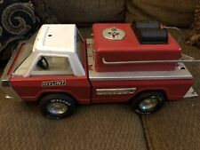 Rare Vintage Nylint Fire Truck Pumper Metal